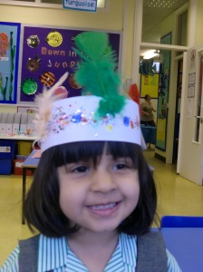 Aalya's Indian Hat