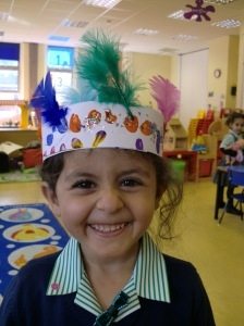 Solafah's Indian Hat.