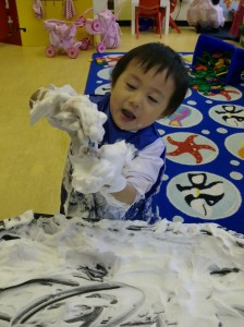 We love getting messy!
