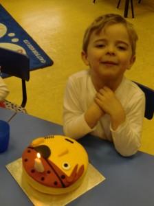 Zachary's Birthday.