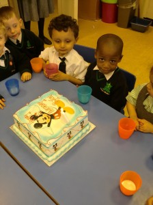 Peyton's Birthday.