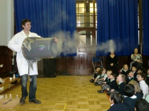 The Mad Science show was great fun!