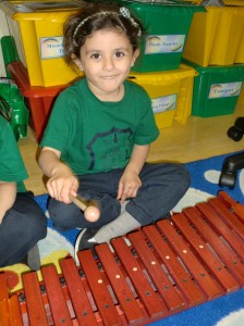 We had great fun with the xylophones!